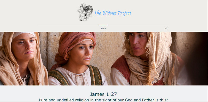 the widows project web image